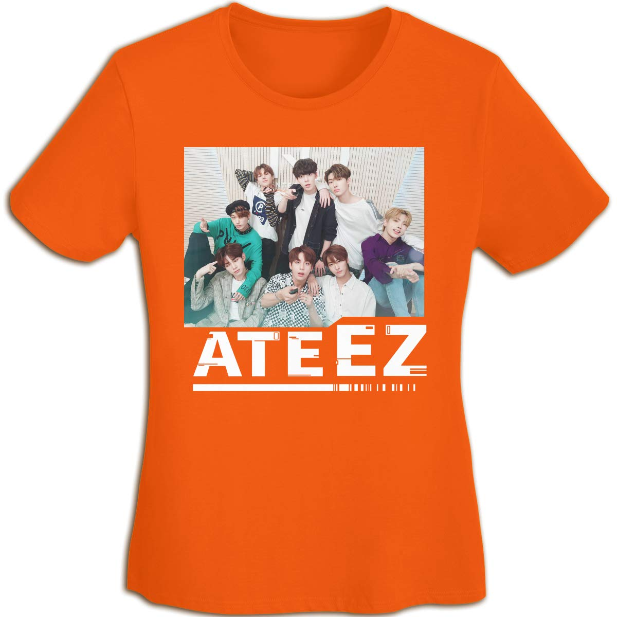 Troom Ateez Girls Loose Tees Fans Aided Shirt 3964