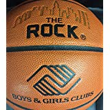 """The Rock - Basketball - Official Size 29.5"""" Composite Leather Basketballs - EXCLUSIVE PATENTED UNIQUE DEEP PEBBLE CHANNEL DESIGN (B & G Cllub)"""