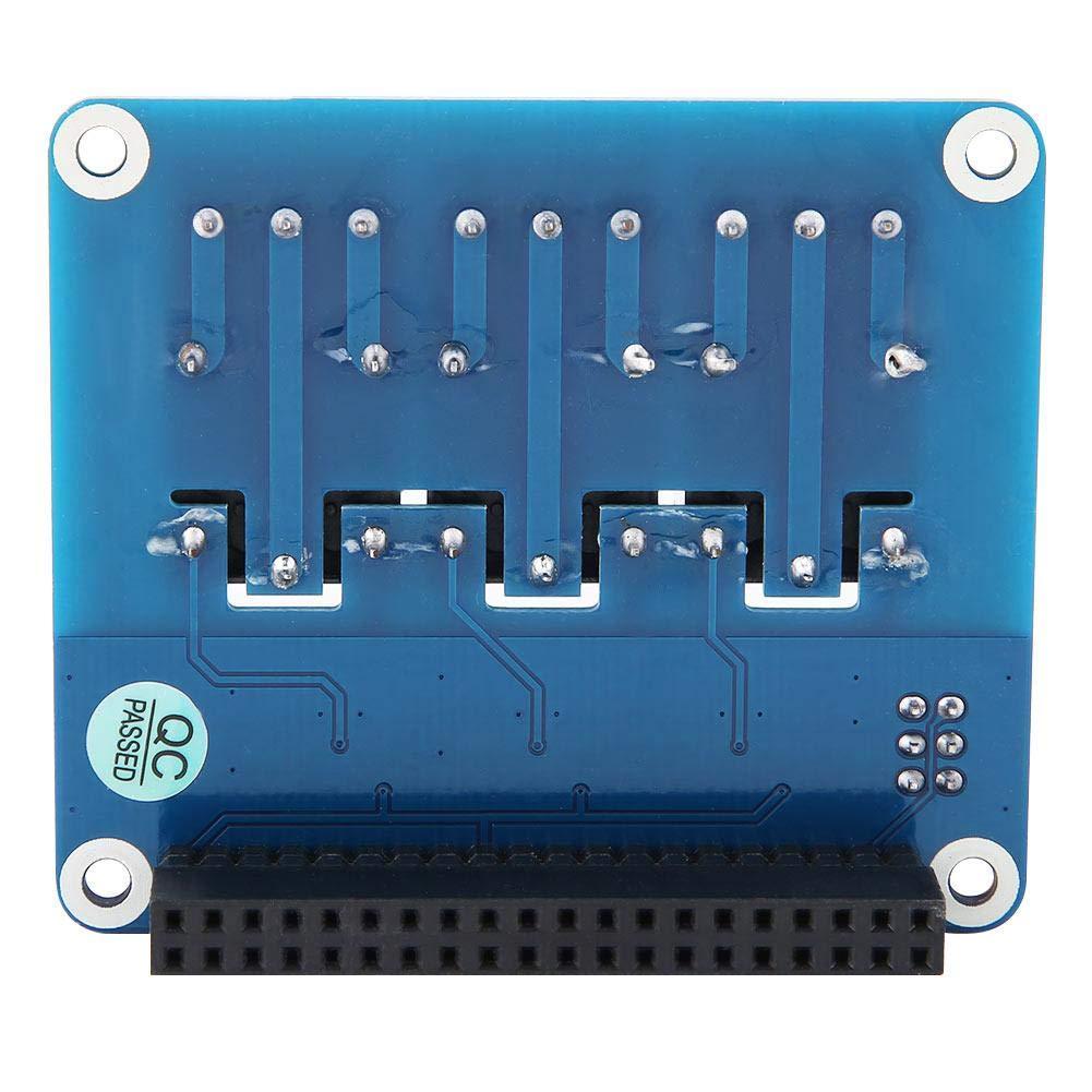 // 2B // 3B // 3B + Carte dExtension,Carte dExtension de Relais /à 3 Canaux Bouclier du Module dExtension de la Carte de Relais pour Raspberry Pi A // B