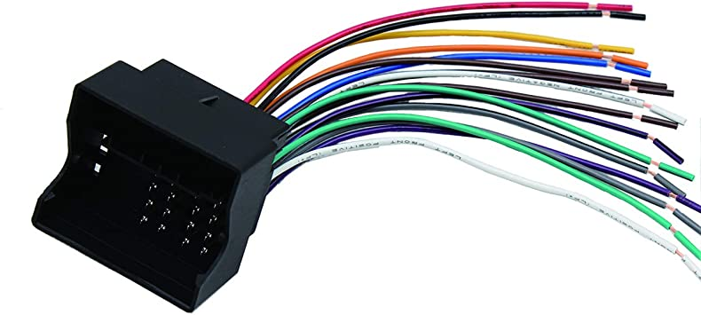 Aftermarket Radio Stereo Dash Install Wire Wiring Harness Cable OEM Plug Adapter