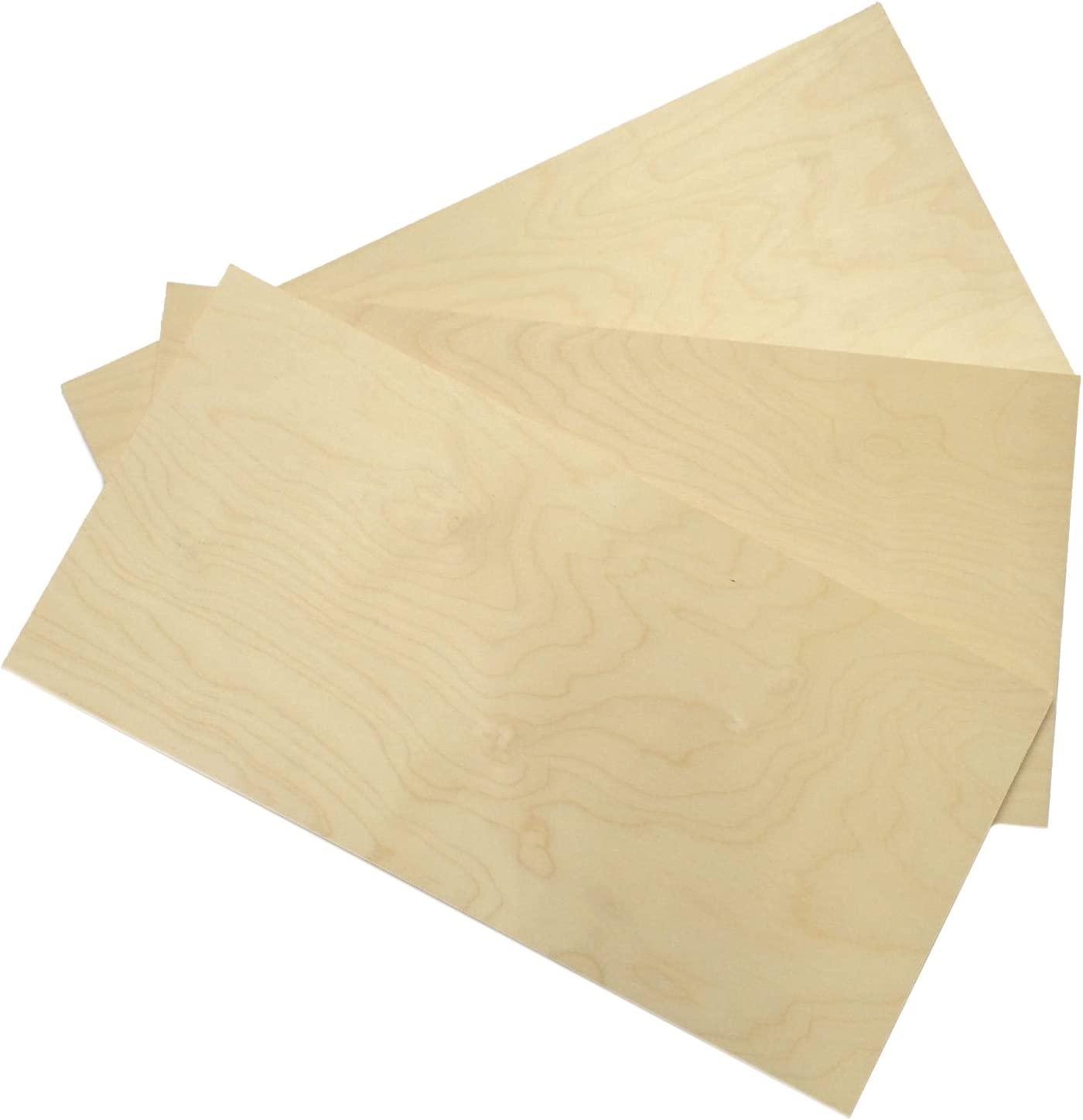 Plywood 610 X 305 X 1 5mm Pack Of 3 Amazon Co Uk Kitchen Home