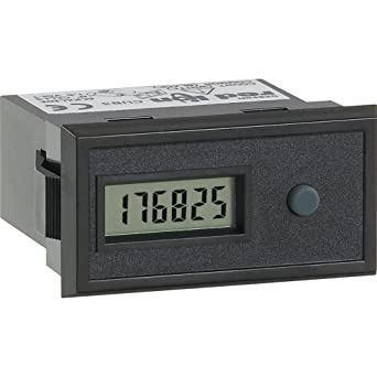 Red Lion Cub3t4 General Purpose Miniature Electronic Timer Digital Panel Meter With Front Panel And Remote