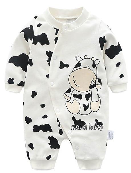 cbc12e91f4 ARAUS Pagliaccetto Body Neonato Manica Lunga Stile Animale Tute Tutina  Bimbo Outfits (0-12 Mesi): Amazon.it: Abbigliamento
