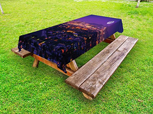 Awesome Amazon Com Lunarable Usa Outdoor Tablecloth Phoenix Caraccident5 Cool Chair Designs And Ideas Caraccident5Info