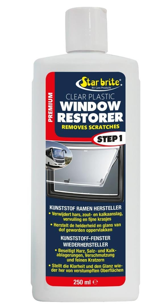 Star Brite Kunststoff-Fenster Pflege | Window Restorer Caravan & Camper 250ml Star Brite Premium Care