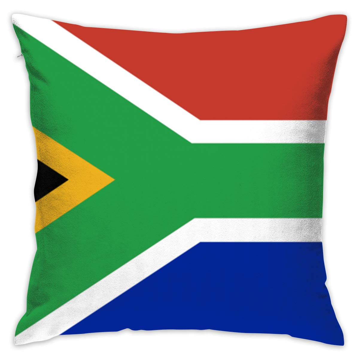 Stupendous Amazon Com Iehfe Mcnxb South Africa Flag Pillow Square Onthecornerstone Fun Painted Chair Ideas Images Onthecornerstoneorg