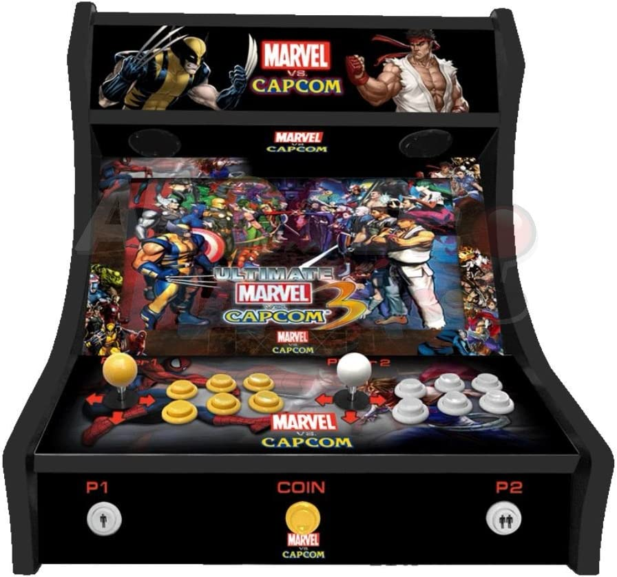 Arcade Machines - Marvel vs Capcom - 2 jugadores Arcade Bartop ...