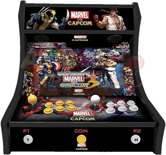 Arcade Machines - Marvel vs Capcom - 2 jugadores Arcade Bartop ...