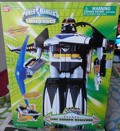 Power Ranger Time Force - Power Rangers Time Force Time Shadow Megazord Deluxe Action Figure