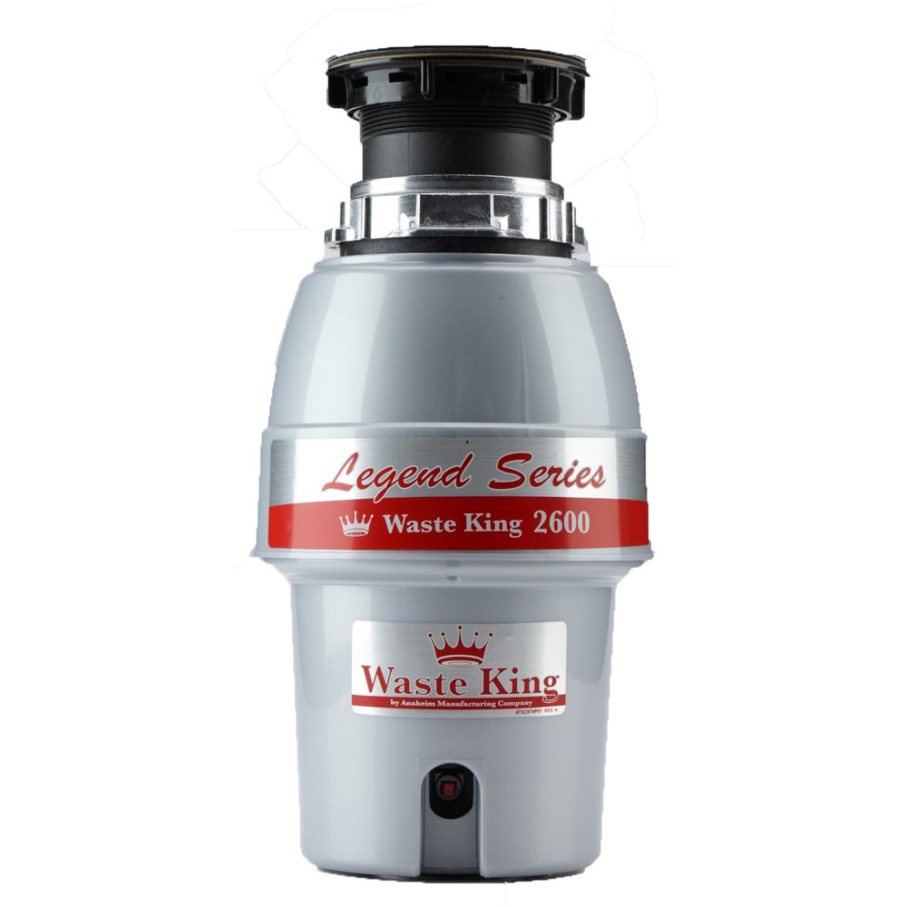 Waste King L-2600 Legend Series 1/2 HP Garbage Disposal Review