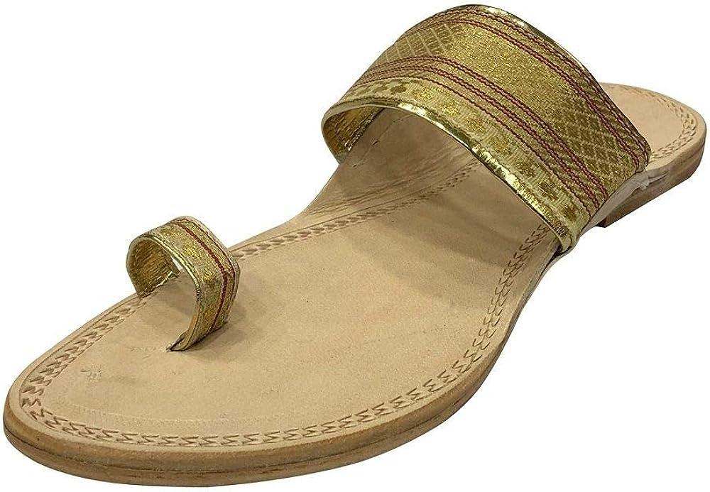 UK Traditional Kolhapuri Handmade Ethnic Shoes Indian Shoes Casual Slipon SS202