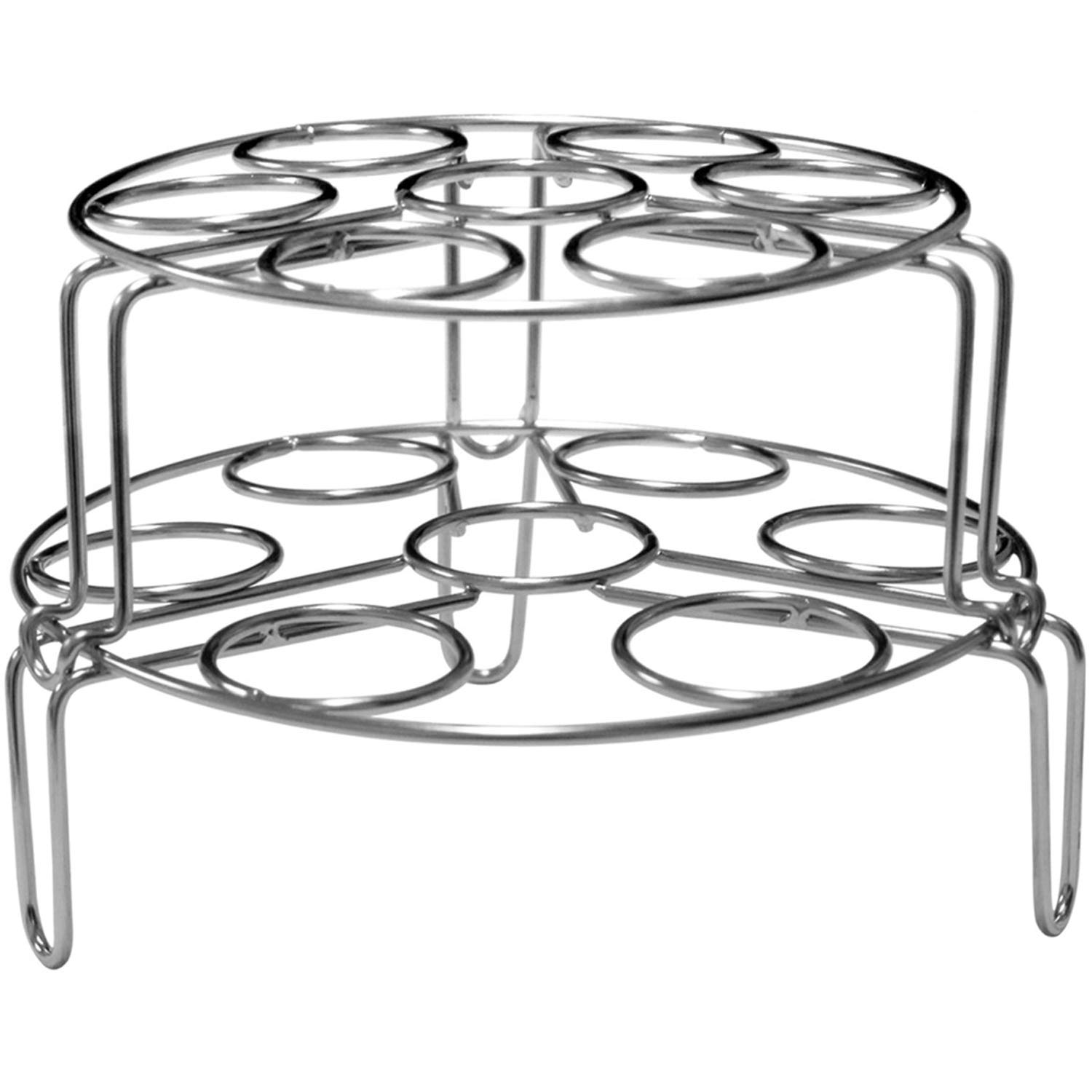 Egg Steamer Rack For Instant Pot Accessories Cooker Stackable Steamers Set - Mukool Kitchen Food Cookware Stainless Steel Pot Mini Small Steamers Rack Basket Egg Cooker 6 8 quart Seafood Vegetable