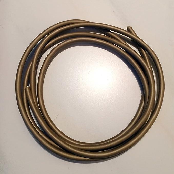 C/âble H03VVH2-F 2/x 0,75/mm/² Or 3/m PVC isol/ée Direction Applique Or C/âble Lampe C/âble Dor/é C/âble dalimentation