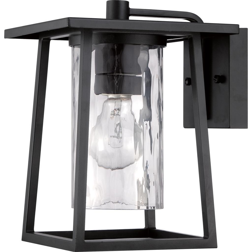 Quoizel LDGK Lodge Light Outdoor Lantern Mystic Black - Quoizel bathroom mirrors