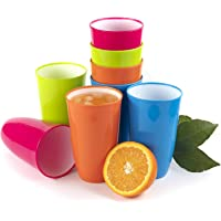 Vasos plastico duro reutilizable copas agua niños tazas