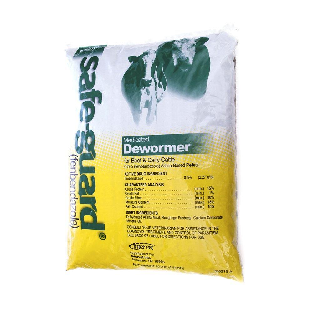 Merck Animal Health Safe Guard Dewormer 0 5 Alfalfa Based Pellets 10lb by Merck Animal Health (Image #1)