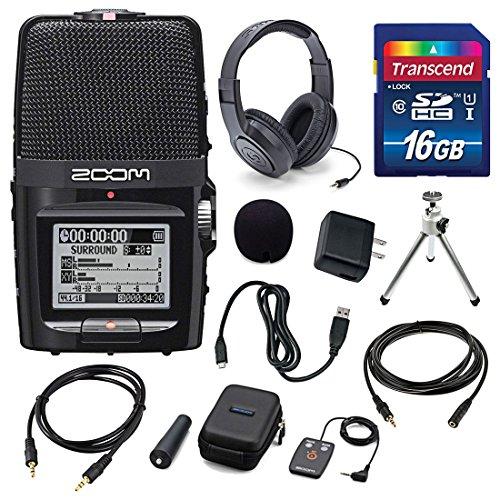 ZOOM H2n Handy Portable Digital Audio Recorder with Samso...