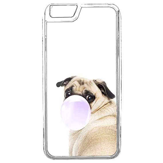 new product fb5a1 99db6 Amazon.com: iPhone 6S Phone Case,Cute Dog Pug iPhone 6 Case,iPhone ...