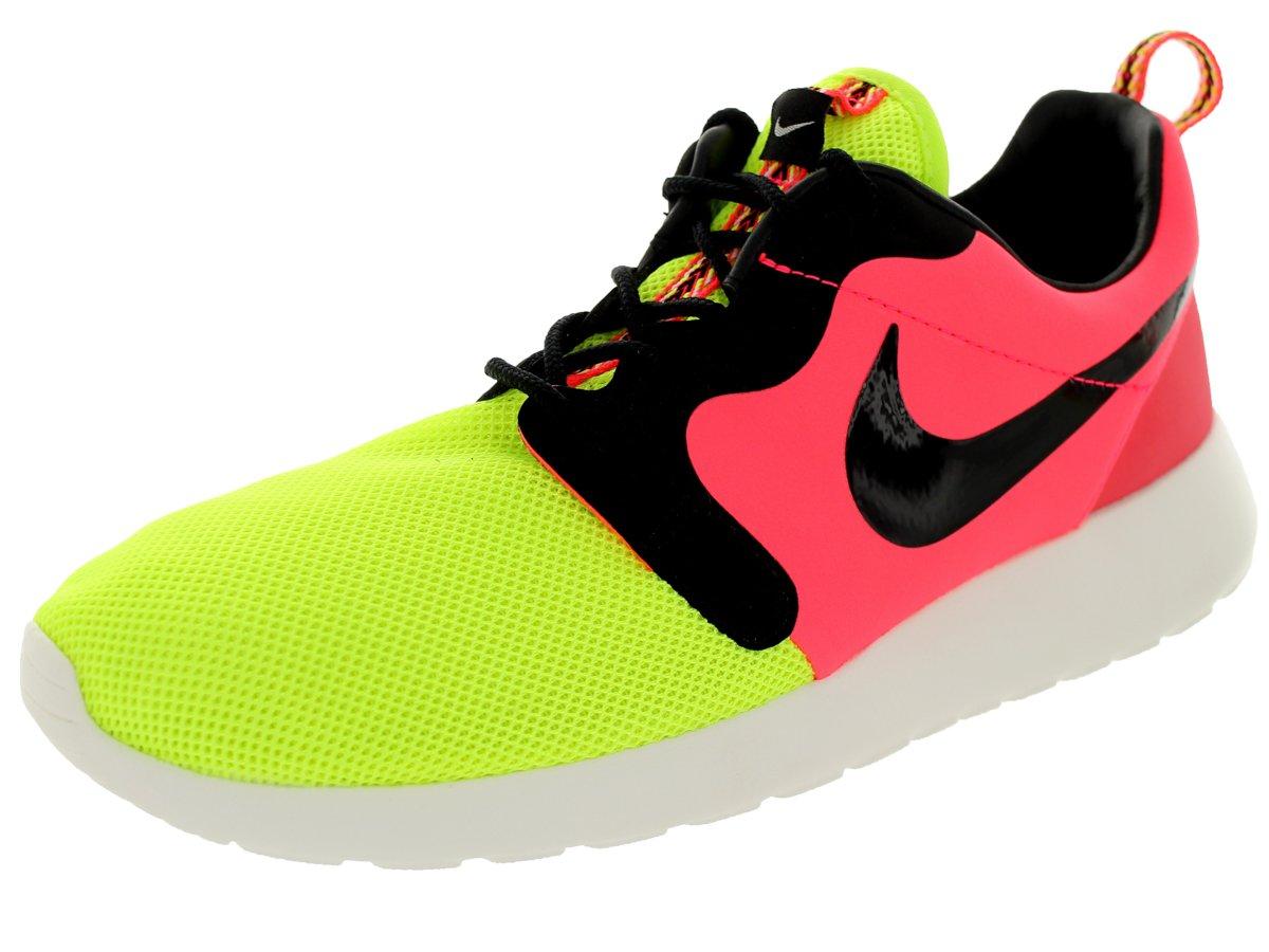Nike Herren Laufschuhe Rosherun HYP PRM QS Turnschuhe 669689 700 Sneaker  44.5 EU|Schwarz/Gelb