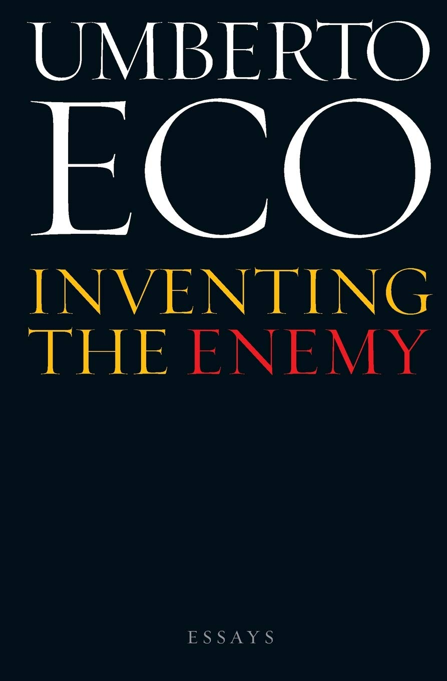 Inventing The Enemy  Essays