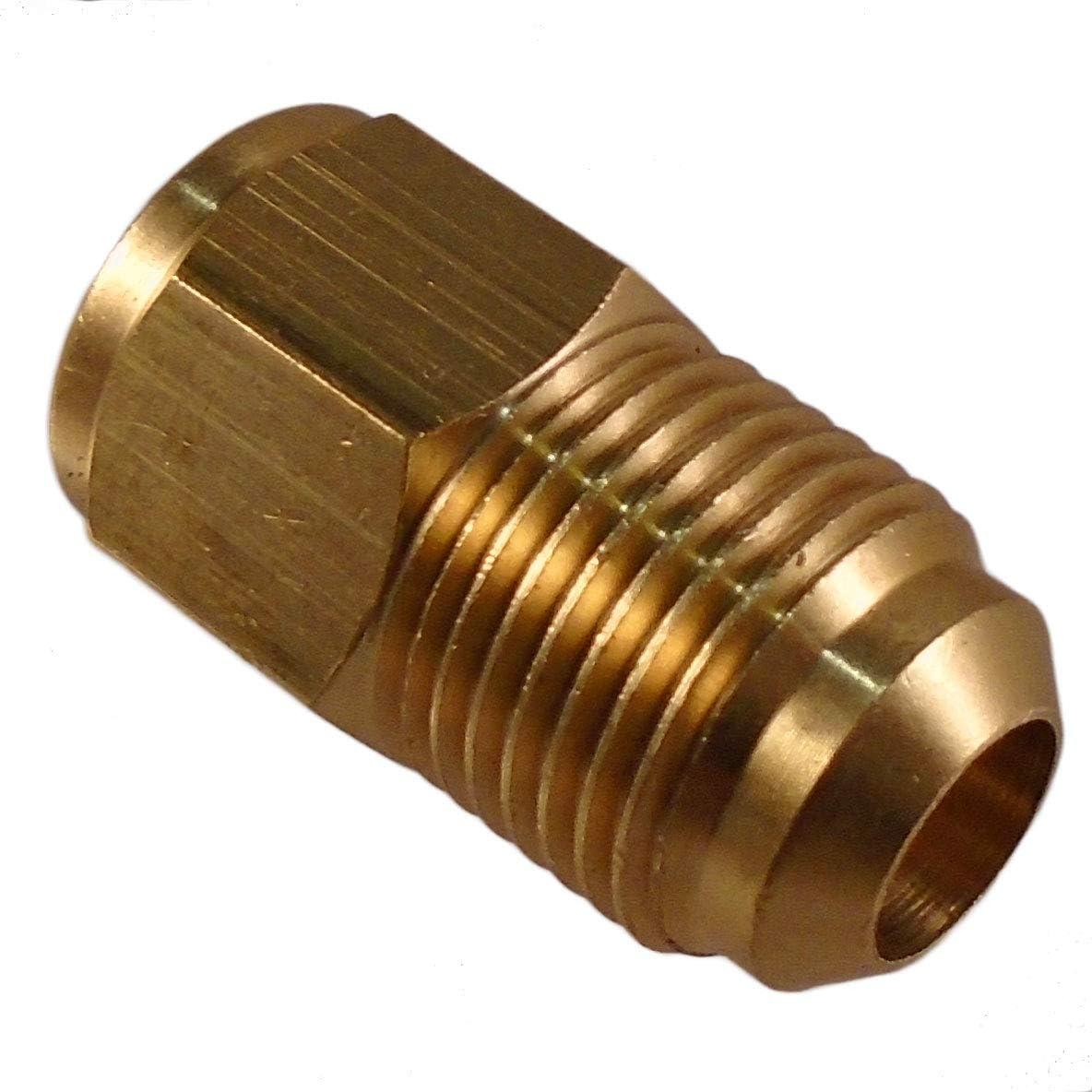 Raccord r/éduction 1//4 Flare femelle SAE x 3//8 Flare m/âle SAE Pour tubes cuivre liaisons frigorifiques climatisation et froid outillage frigoriste