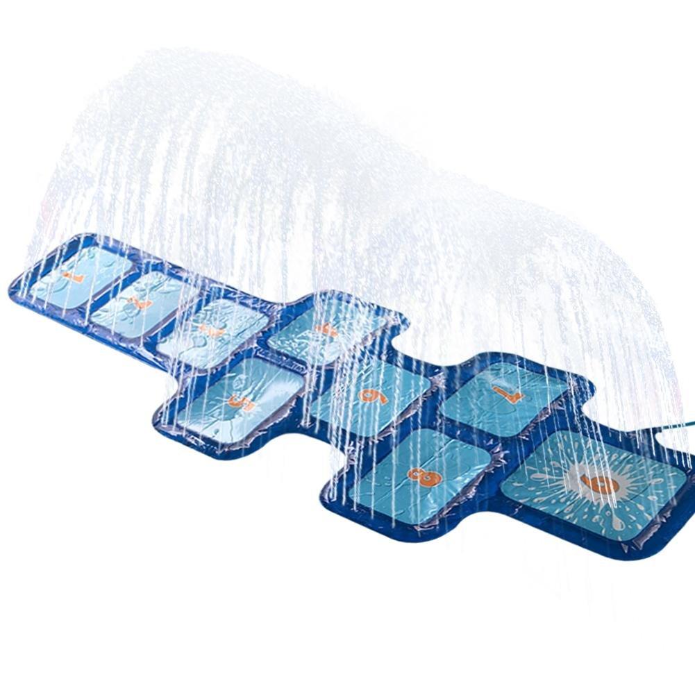 Il materasso gonfiabile durevole del PVC del getto di acqua spruzza la stuoia dello spruzzo d'acqua della stuoia del gioco dei bambini per i giochi all'aperto di prato inglese della spiaggia di divert Sheep-H