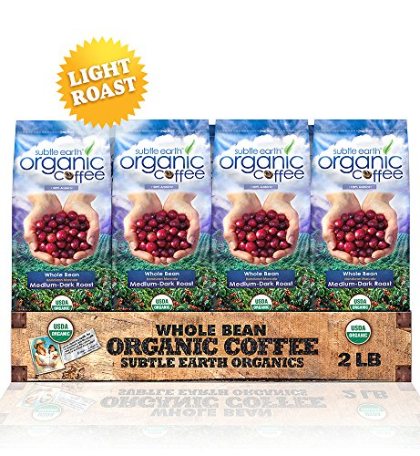 2LB Cafe Don Pablo Subtle Earth Organic Gourmet Coffee - Light Roast - Whole Bean Coffee USDA Certified Organic, 2 Pound by Cafe Don Pablo (Image #3)