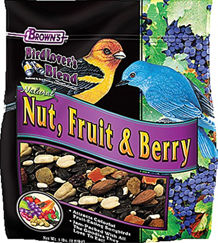 F.M. Brown'S Bird Lover'S Blend Fruit Nut And Berry, 5-Pound