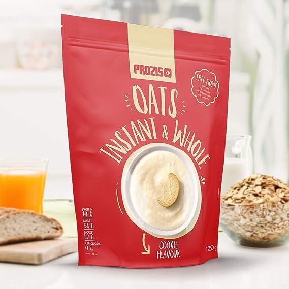 Prozis Instant Whole Oats, Galletas - 1250 gr