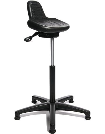 weiss B-Ware Hocker Stehhilfe Schreibtischstuhl Topstar Sitness High Bob weiss