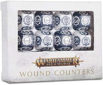 Warhammer Age of Sigmar Wound Counters: Amazon.es: Juguetes y juegos