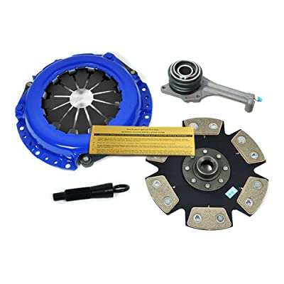 EFT STAGE 4 SPORT CLUTCH KIT & SLAVE WORKS WITH 02-03 MITSUBISHI LANCER ES LS OZ RALLY 2.0L: Automotive
