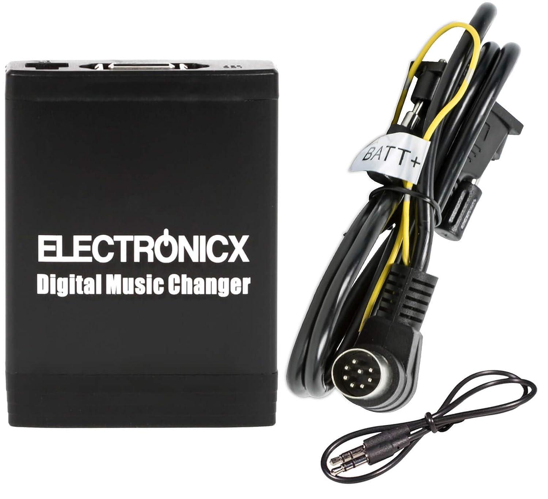 Adaptador de radio para coche USB SD AUX MP3 CD Volvo HU401 HU403 HU405 HU415 HU450 HU555 HU601, para auto