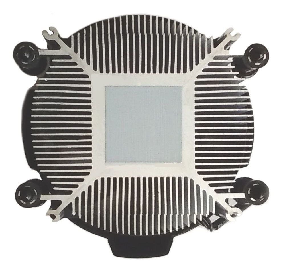 AMD Wraith Stealth Socket AM4 4-Pin Connector CPU Cooler With Aluminum Heatsink & 3.93-Inch Fan With TronStore Thermal Paste For Desktop PC Computer (TS72) by TronStore (Image #2)