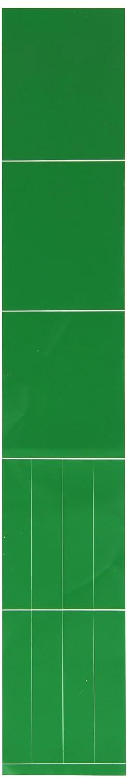 2 1//4 Height X 2 3//4 Width Brady 7022-3C Self-Sticking Vinyl Pipe Marker Blank B-946 Green Pressure Sensitive Vinyl Legend