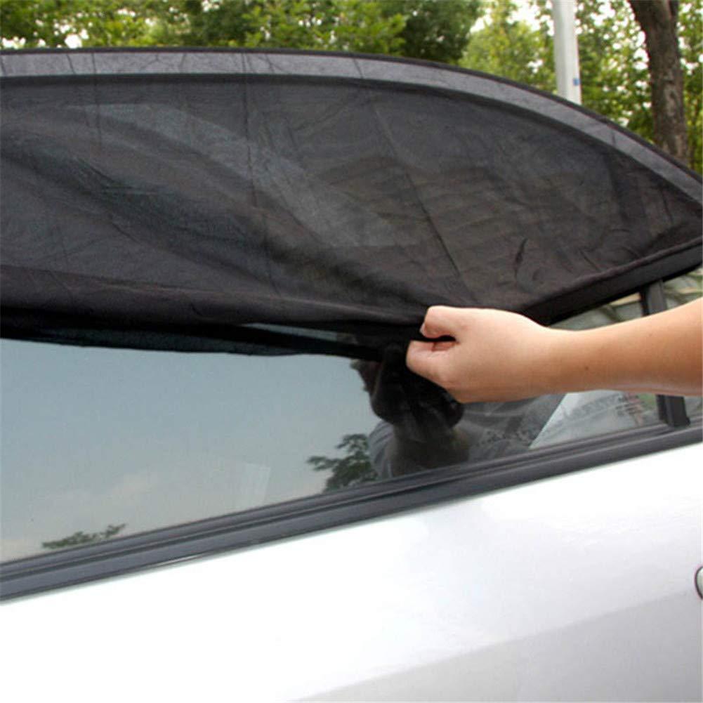 protecci/ón para el Sol y protecci/ón contra Rayos UV ni/ños y Mascotas Klinkamz 1 par de parasoles para Ventana Delantera de Coche para beb/és