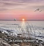 Funeral Guest Book in Loving Memory, Memorial Guest Book, Condolence Book, Remembrance Book for Funerals or Wake, Memorial Service Guest Book: A ... the Family. Hardcover with a Gloss Finish.