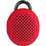 Divoom Bluetune Bean Portable Wireless Bluetooth Speakers with Selfie Remote Shutter (Red)