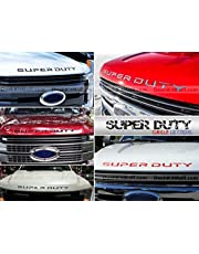 SF Sales USA - Black Front Letters Super Duty 2017 2018 Hood/Grille Inserts Not Decals