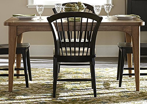 Liberty Furniture Candler Dining Table in Nutmeg