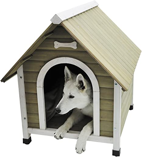 Nobby Wooden Kennel