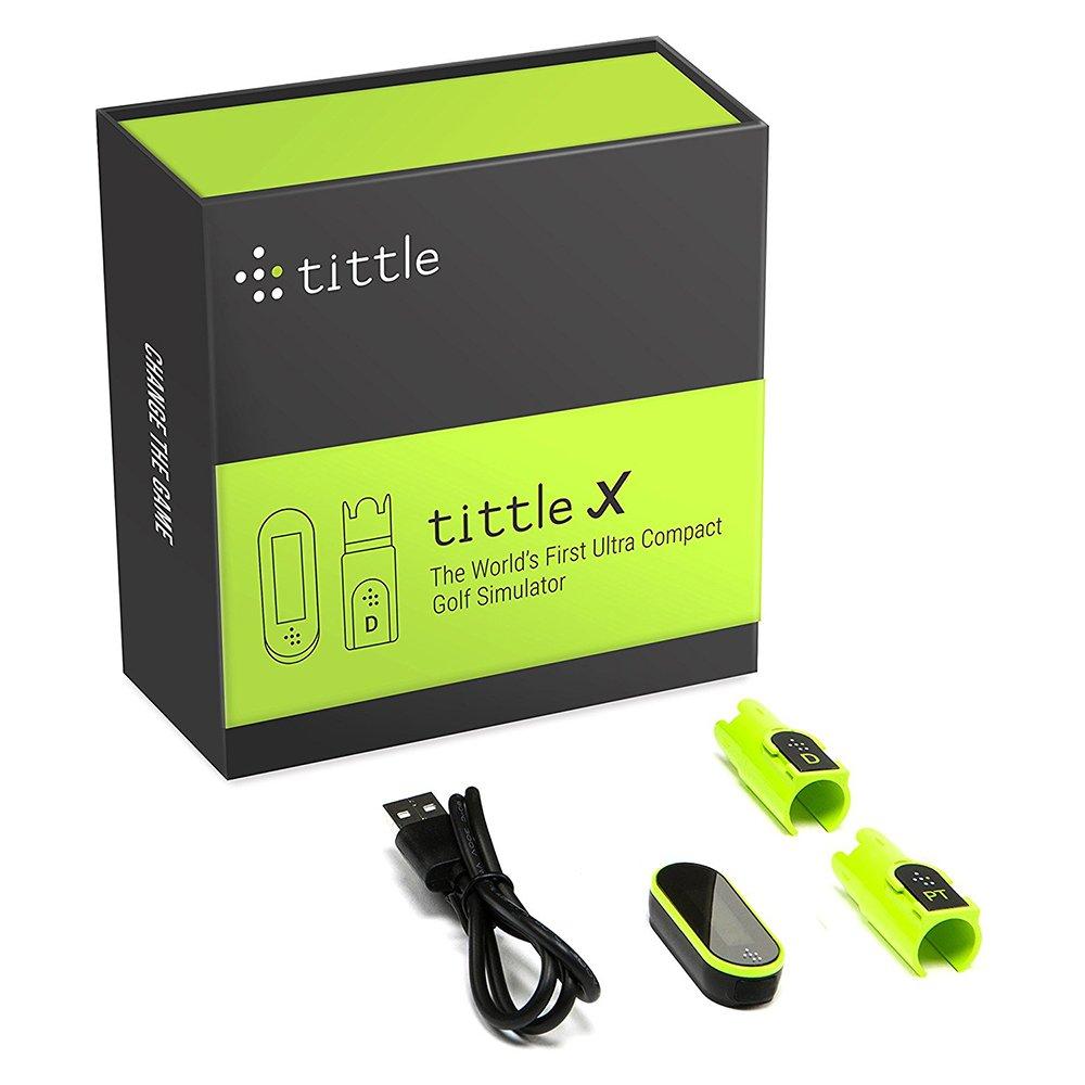 Tittle X Golf Simulator Air Golf Pack, Trugolf E6 Edition