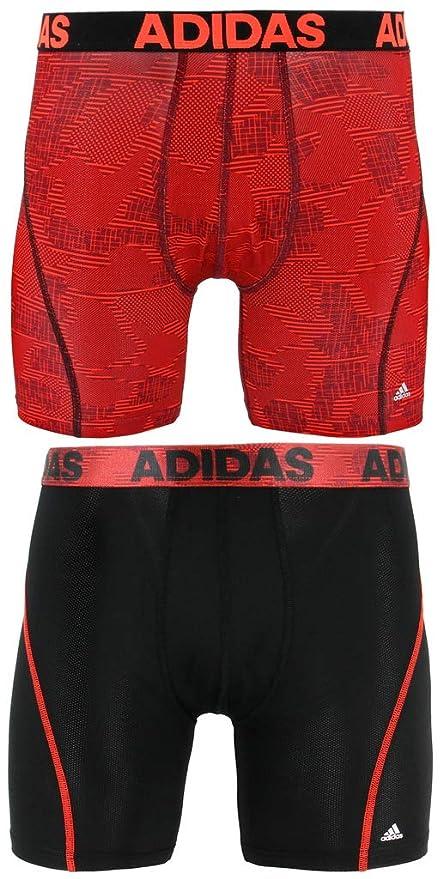 f0fd932c7 adidas Men's Sport Performance Climacool Boxer Briefs Underwear (2-Pack),  alloy camo