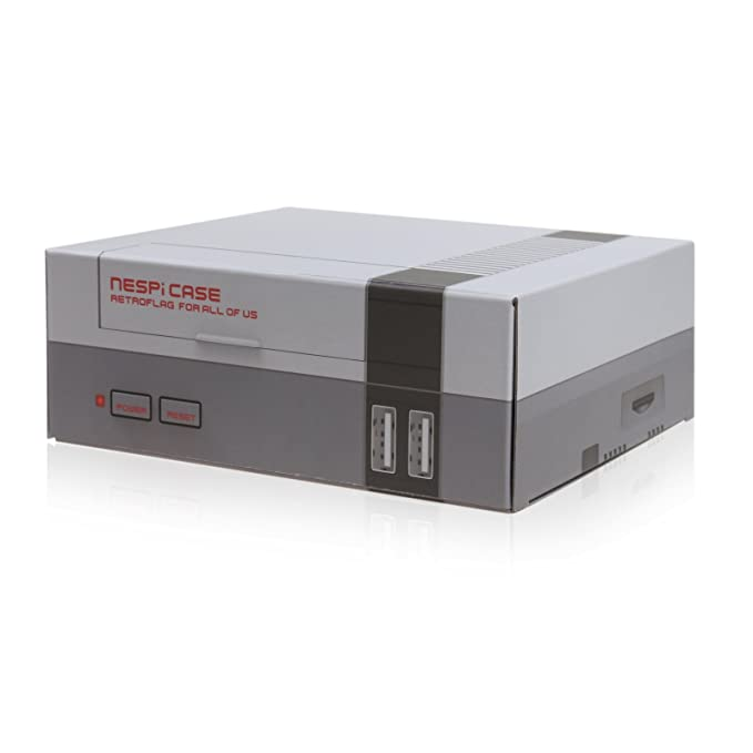 Raspberry Pi Mini caso NES Estilo nespi carcasa para Raspberry Pi B + 3 2 & 1