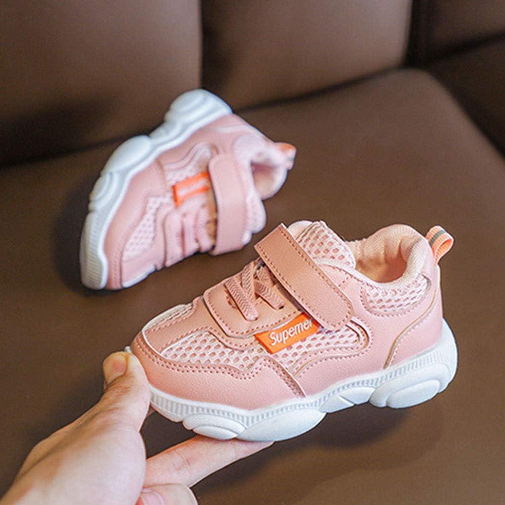 Daclay Chaussures Enfants gar/çons et Filles Chaussures de Sport Chaussures de Sport Chaussures de Sport Velcro Mesh