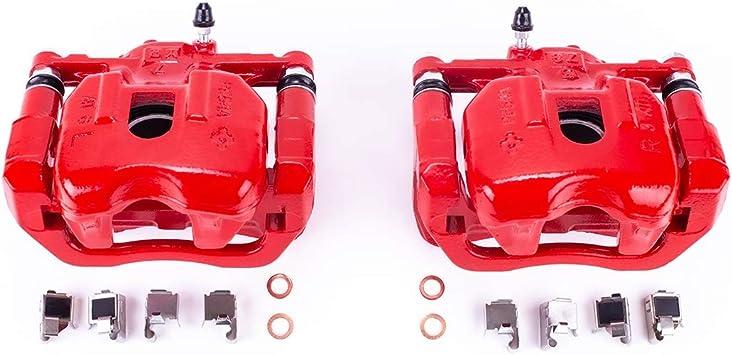 Power Stop S3246 Performance Front Powder Coated Brake Caliper Set