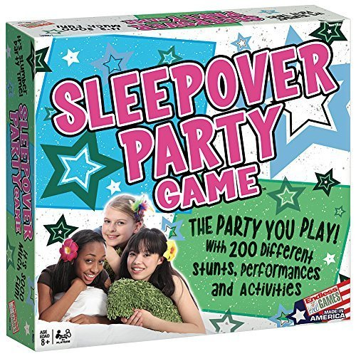 Sleepover Slumber Party Game- Young Tween Teens Girlfriend Fun Activities