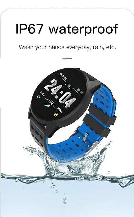 Smartwatch, Reloj Inteligente, Health Bracelet 2019 (Azul ...