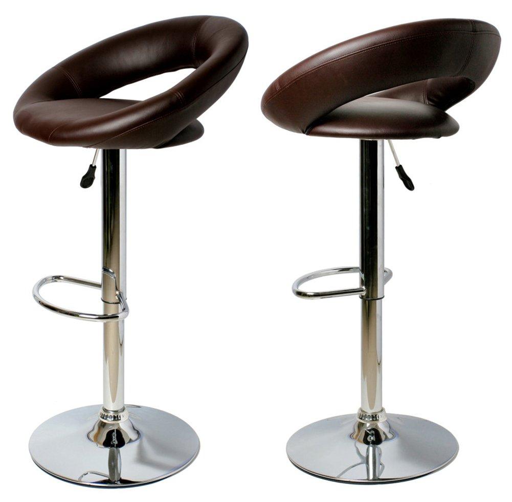 amstyle barhocker kreta hocker bezug kunstleder schwarz. Black Bedroom Furniture Sets. Home Design Ideas