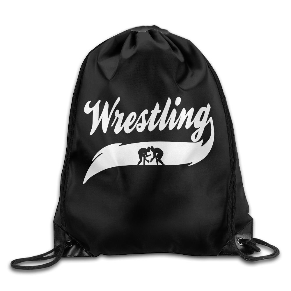 Wrestling Mom Folding Sport Backpack Drawstring Bag Customize Fashion by Q56LZXXDN